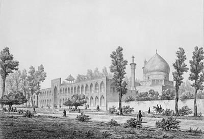Madrasa-yi Masjid-i Shah Sultan Print by Pascal Xavier Coste