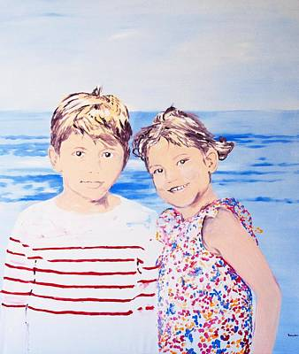 Hockney Painting - Magdalena Und Balthasar by Eckhard Besuden