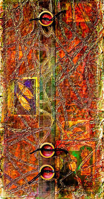 Modernism Mixed Media - Magic Carpet by Bellesouth Studio