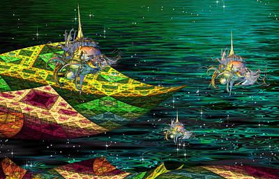 Magic Carpet Ride Digital Art - Magic Carpet Ride by Phil Sadler