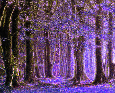 Regalo Painting - Magic Forest - Impressionism by Georgiana Romanovna
