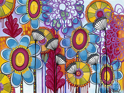 Painting - Magic Garden by Carla Bank