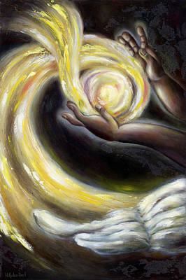 Angel Art Painting - Magic by Hiroko Sakai