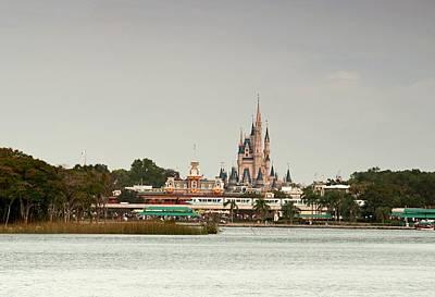 Disney Photograph - Magic Kingdon - Walts Magical Place by John Black