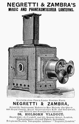 Magic Lantern, 1891 Print by Granger