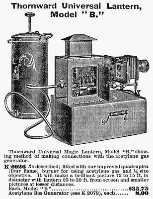 Magic Lantern, 1900 Print by Granger