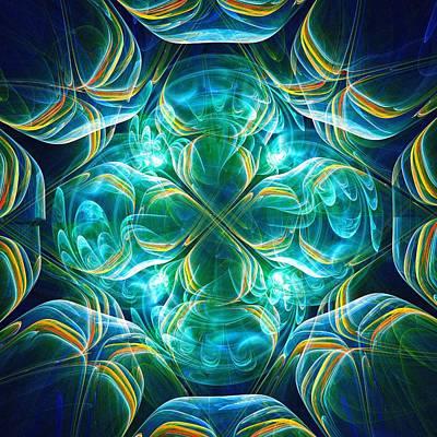 Aliens Mixed Media - Magic Mark by Anastasiya Malakhova