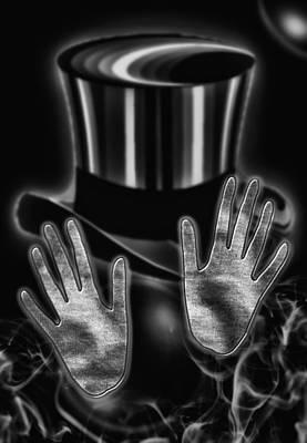 Black Top Digital Art - Magic by Mountain Dreams