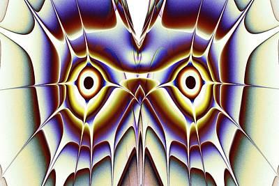 Feathers Digital Art - Magic Owl by Anastasiya Malakhova