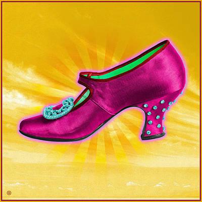 Shoe Digital Art - Magic Shoe by Gary Grayson
