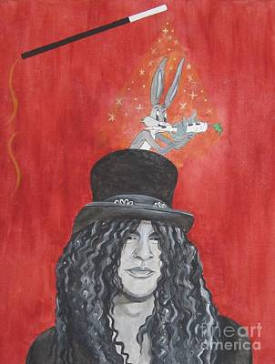 Velvet Revolver Painting - Magic Slash by Jeepee Aero