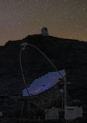 Mirror Imaging Photograph - Magic Telescope by Babak Tafreshi