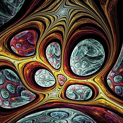 Glass Digital Art - Magic Windows by Anastasiya Malakhova