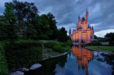 Magic Kingdom Photograph - Magic by Zach  Roberts
