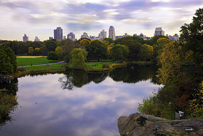Pond Turtle Photograph - Magical 1 - Central Park - New York by Madeline Ellis