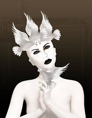 Lips Digital Art - Magical 3 by Mark Ashkenazi