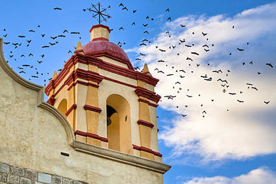 Lively Photograph - Magical Bell Tower In Mexico by Mark E Tisdale