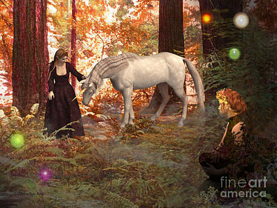 Magical Encounter Print by Methune Hively