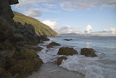 Surf Lifestyle Photograph - Magical Evening Keem Beach Ireland by Betsy C Knapp