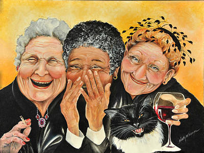 Laughter Painting - Magical Moment by Shelly Wilkerson
