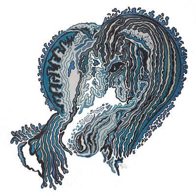 Kelpie Digital Art - Magical by Turtle Mull