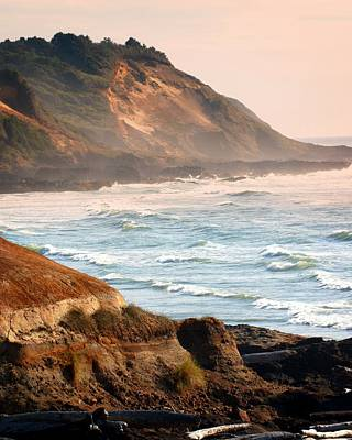 Magnificent Coast  Print by Marty Koch