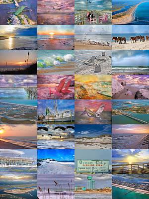 Sandcastle Photograph - Magnificent Coastal North Carolina by Betsy Knapp