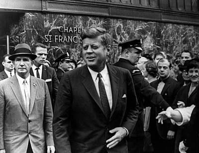 Archives Photograph - John F. Kennedy by Retro Images Archive