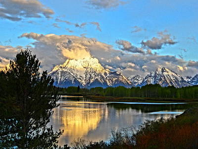Painter Photograph - Magnificent Mountain by Dan Sproul