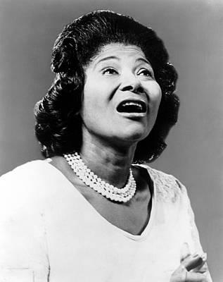 Mahalia Jackson Photograph - Mahalia Jackson, Ca. 1962 by Everett