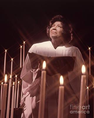 Mahalia Jackson Photograph - Mahalia Jackson by Frank Bez