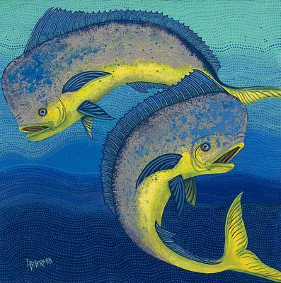 Mahi Mahi  Original by Linda Peterson