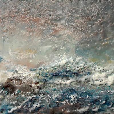 Wax Painting - Mahlers Crescendo by Victoria Primicias