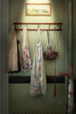 Beaters Photograph - Maid - Always So Much Housework by Mike Savad