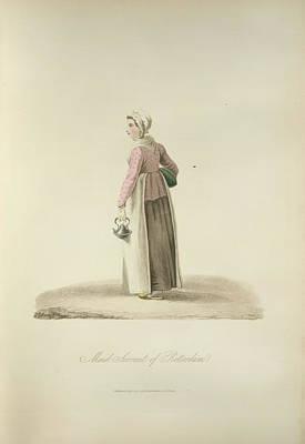 Maid Servant Of Rotterdam Print by British Library