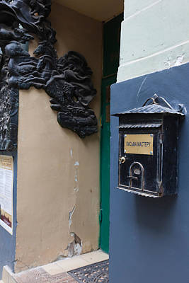 Moscow Photograph - Mailbox At Bulgakov House Museum by Panoramic Images
