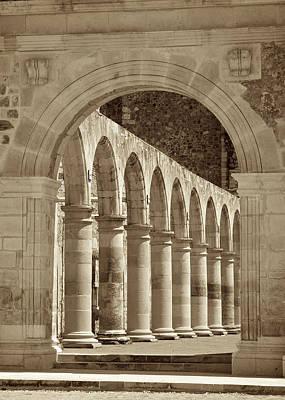 Architecture Photograph - Main Entrance by Genaro Rojas