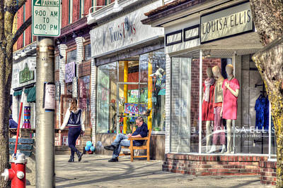 Toy Shop Photograph - Main Street - Great Barrington - No.3 by Geoffrey Coelho
