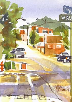 Arcadia Valley Painting - Main Street Ironton Missouri by Kip DeVore