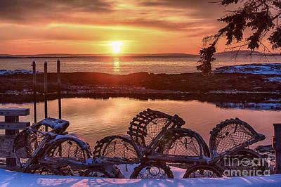 Bailey Island Photograph - Maine by Benjamin Williamson
