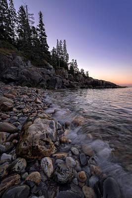 Maine Beach Photograph - Maine Dawn by Rick Berk