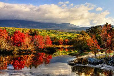 Sbatdorf Digital Art - Maine's Beauty by Sharon Batdorf