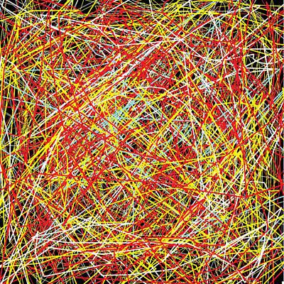 Digital Art - Mainstream Confusion by Ruth Clotworthy