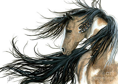 Pinto Painting - Majestic 89 by AmyLyn Bihrle
