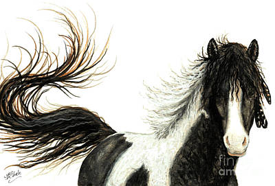 Pinto Painting - Majestic Horse Series #76 by AmyLyn Bihrle