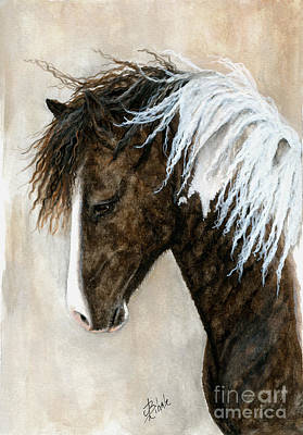 Buckskin Horse Painting - Majestic Series 91 by AmyLyn Bihrle