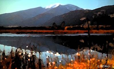 George Pedro Art Painting - Majestic View by George Pedro