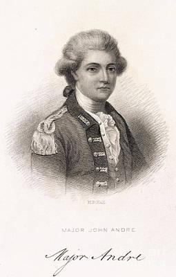 Major John Andre Print by British Library
