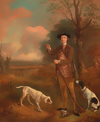 Musket Painting - Major John Dade Of Tannington Suffolk by Mountain Dreams