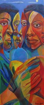 Make Love Not War Original by Joyce Owens